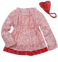 Koki košulja i marama za  za djevojčice, vel.: 68-98