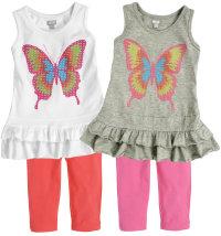 Leisurewear ljetni komplet za djevojčice, vel.: 92-116