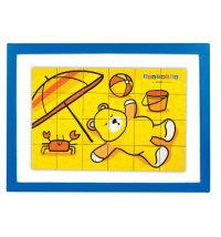 Kidiwood drvena igračka Mag-me-on-Magnetic Puzzles/slagalica za djecu