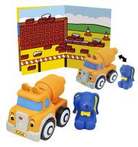 Didaktička igračka za slaganje kamion s mješalicom, 12mj.+
