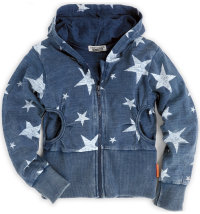 DJDUTCHJEANS majica s kapuljačom/jakna za djevojčice, vel.: 92-140