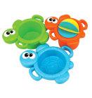 Didaktički set igračaka za kupanje kornjača, 0mj.+