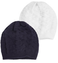 Koki pletena kapa za djevojčice i dječake, vel: 42 - 46