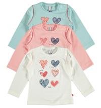 Babyface majica dugih rukava za djevojčice, vel: 68 - 92