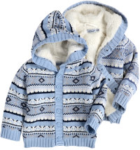 Dirkje vesta/jakna s kapuljačom za dječake, vel: 80 - 104