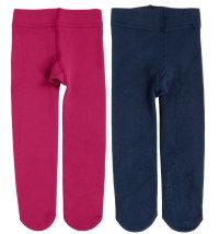 Postavljene pletene čarape s gaćicama - štrample, vel: 68/74 - 80/86
