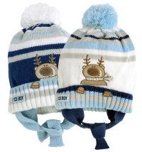 Koki kapa za dječake, vel: 46 - 48 cm (12 - 24 mjeseci)