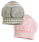 Koki topla kapa za djevojčice, vel: 39 - 46 cm (0 - 18 mjeseci)