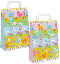 Ukrasna poklon vrećica, vel: 22 x 10,5 x 32 cm
