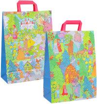 Ukrasna poklon vrećica, vel: 32 x 14 x 42 cm