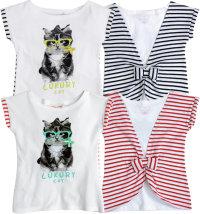 Knot so Bad majica kratkih rukava za djevojčice, vel: 92 - 122/128