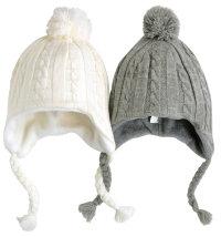 Niki topla kapa za djevojčice i dječake, vel: 44 - 49 cm (1 - 4 god.)