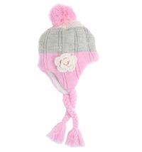 Niki topla kapa za djevojčice, vel. 50 - 54 cm (4 - 8 god.)
