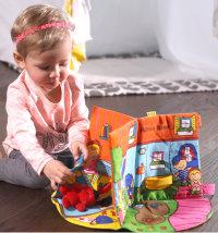 Didaktička igračka 3D - edukativna knjiga Patrikov dom, 12mj.+