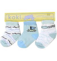 Koki set čarapa za dječake, vel: 80/86