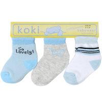 Koki set čarapa za dječake, vel: 56 - 86