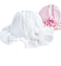 Koki šešir za djevojčice, vel.: 44-50 (4mj.- 2god.)