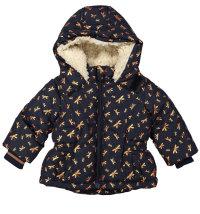 Topla zimska jakna s kapuljačom, vel. 92-104
