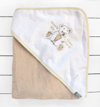 Koki ručnik s kapuljačom, vel. 90x90 cm