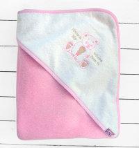 Koki ručnik s kapuljačom za djevojčice, vel. 90x90 cm