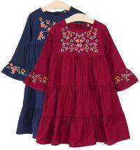 Knot so Bad haljina za djevojčice, vel. 92-122/128