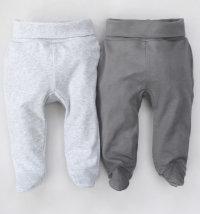 Jacky hlače sa stopalicama SET (2 kom) za djevojčice i dječake, vel. 50/56-62/68