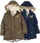 Topla zimska jakna s kapuljačom, vel. 128-164