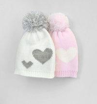 Koki topla kapa za djevojčice, vel. 44-50 cm (6-12mjeseci)