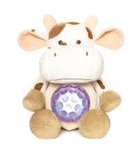 Noćna glazbena lampa - Krava, 23 cm