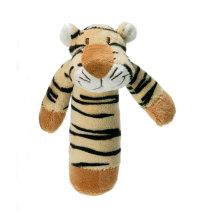 Pliš zvečka Tigar, 15 cm