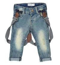Traper hlače s naramenicama