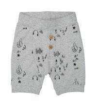 DIRKJE Mekane jersey kratke hlače s printom i gumbima