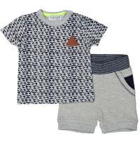 DIRKJE Pamučni komplet majica kratkih rukava i kratke hlače