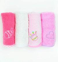 Set malih ručnika za djevojčice