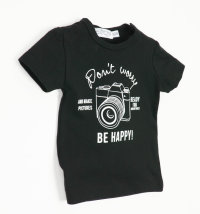 DIRKJE Majica kratkih rukava s printom fotoaparata