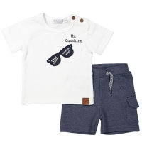 Pamučni komplet majica kratkih rukava i kratke hlače