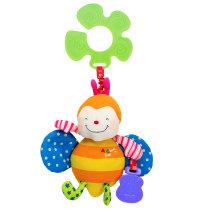 Didaktička igračka za kolica pametna pčelica, 3mj.+