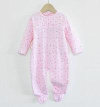 BABYBOL Pamučni kombinezon/ pidžama s uzorkom