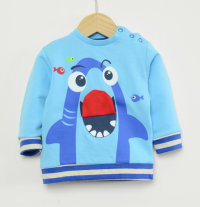 KNOT SO BAD Pamučna majica s printom morskog psa