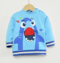 Pamučna majica s printom morskog psa