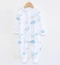 BABYBOL Pamučni kombinezon/ pidžama s oblacima