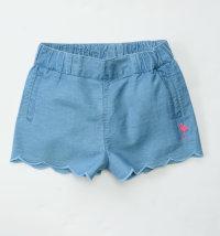KNOT SO BAD Kratke hlače s vezom flaminga