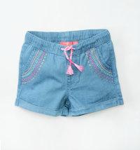 KNOT SO BAD Boho kratke hlače sa šarenom aplikacijom