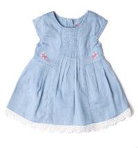BABYBOL Plava haljina kratkih rukava