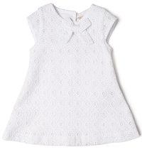 BABYBOL Svečana bijela haljina A kroja