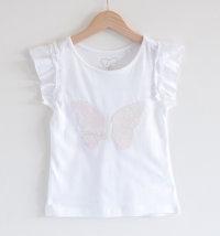 Majica koja mijenja boju s motivom leptira