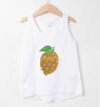 KNOT SO BAD Majica bez rukava s motivom limuna