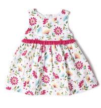 Cvjetna haljina bez rukava