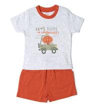 BABYBOL Komplet majica kratkih rukava i kratke hlače