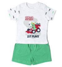 BABYBOL Komplet majica kratkih rukava i kratke hlače formula 1